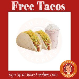 Free Tacos and Milkshake