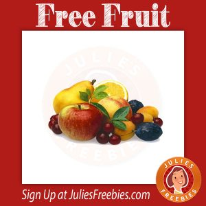 Free Fruit at Albertson's for Kids