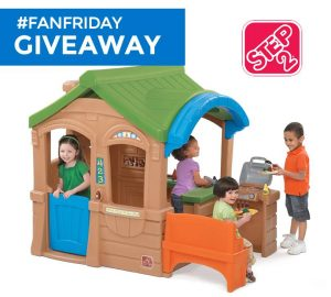 Win a Gather & Grill Playhouse