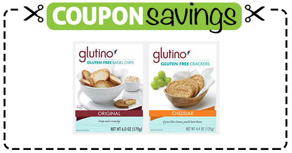 Save  off any Glutino Product