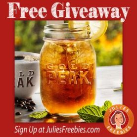 Gold Peak Tea Sip of Summer Instant Win Game - Freebies List