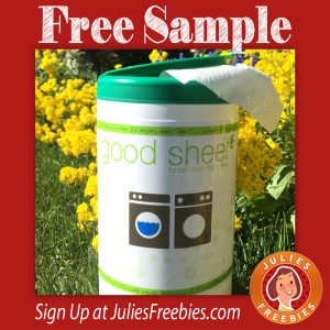 Free Good Sheet Total Laundry Care Sample
