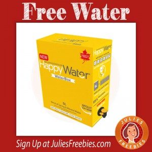 Free Box of Happy Water