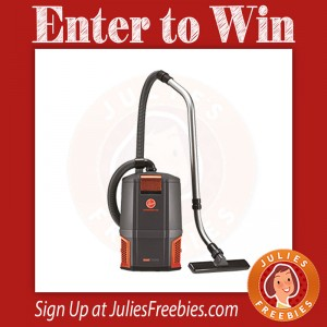Win a Hoover Backpack Vacuum