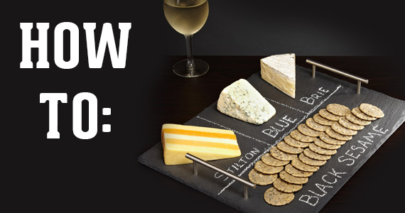 How To Make A Chalkboard Cheese Plate