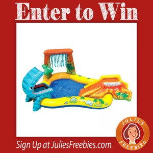 Win an Intex Dinosaur Play Center