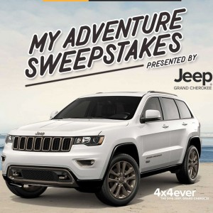 Jeep My Adventure Sweepstakes