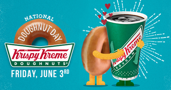 Celebrate National Doughnut Day with Krispy Kreme