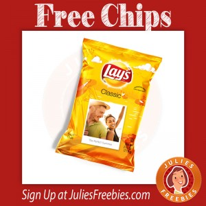 Free Custom Bag of Lays Chips