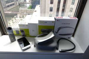 Win a LG Virtual Reality Kit
