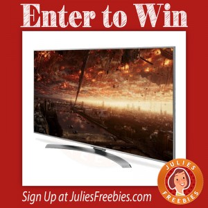 Win a 65″ LG Super UHD TV