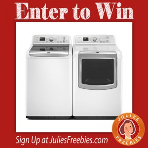 Win a Maytag Washer and Dryer