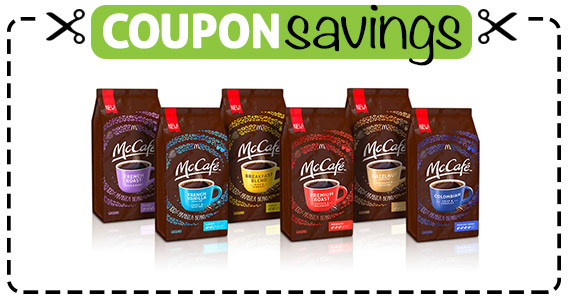 Save $1.50 off McCafe Coffee
