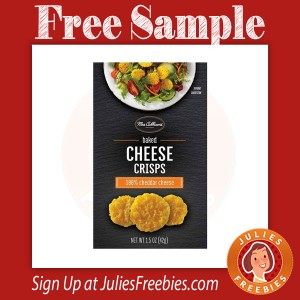 Free Mrs Cubbison's Cheese Crisps