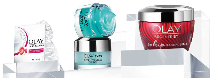 Request for a Free Olay Whips Fragrance Free, Deep Hydrating Eye Gel and Cleansing Cloths Samples