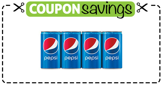 Save  off 2 Pepsi 12P Cans