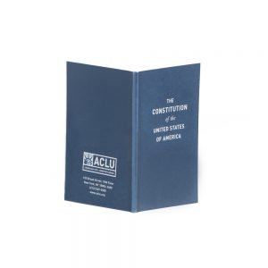 Free ACLU Pocket Constitution of the United States