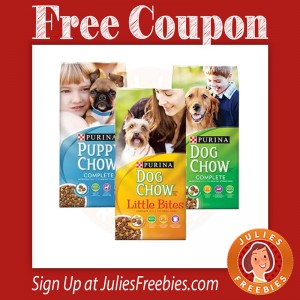 Free Purina Dog or Cat Chow Coupon