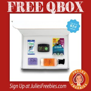 FREE Trial QBOX + FREE $5 Gift Card – First 500 only