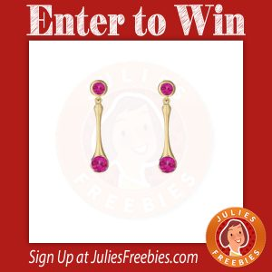 Win Spinel Earrings