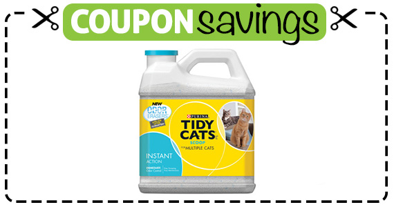 Save  off Purina Tidy Cats Litter