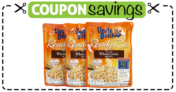 Save  off 2 Uncle Bens Grains Products
