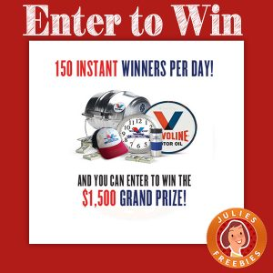 Valvoline 150 Giveaway and Instant Win Game
