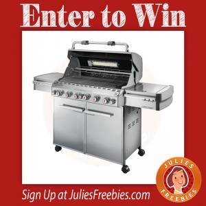 Win a Weber Summit Stainless Steel Grill