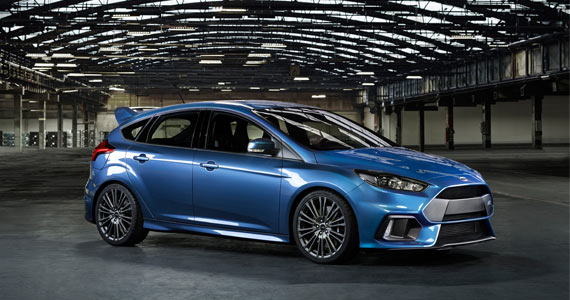 Win a 2017 Ford Focus RS