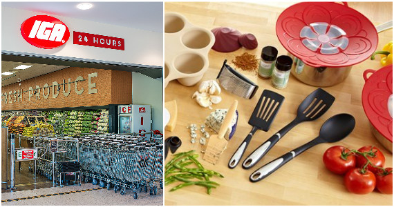 Win a Pampered Chef Shopping Spree & IGA Gift Card