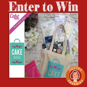 Win a Cake Bag from Cake Masters