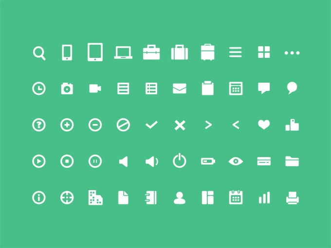 50 Useful Mini Icons