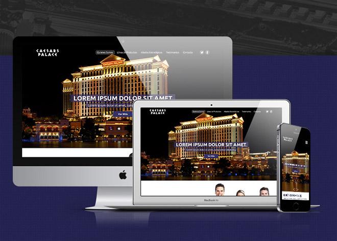Cesar's – Free Hotel PSD Web Template