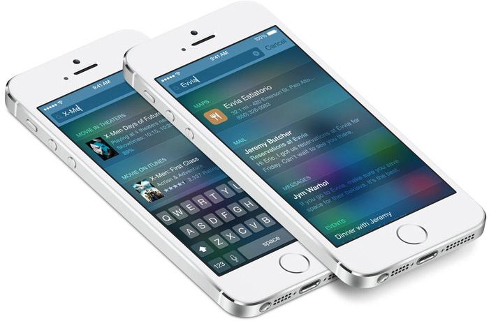 Vector SpotLight UI for iOS 8