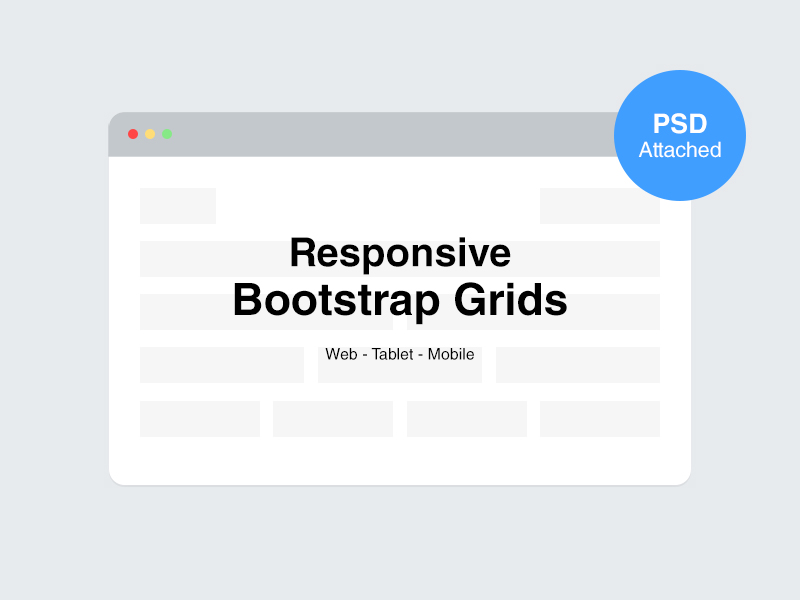 Free Responsive Bootstrap Grids (PSD)