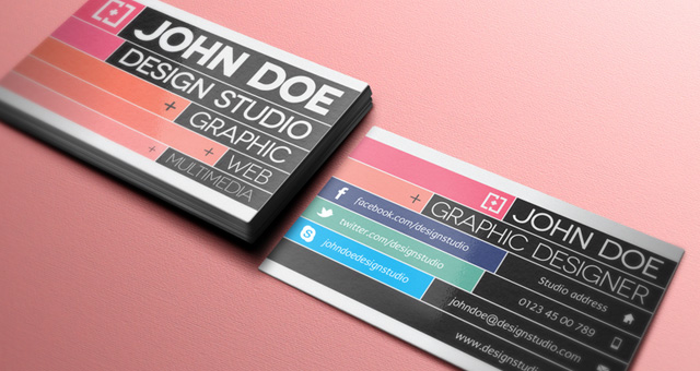 Creative business card template for graphic designer free download creative business card template for graphic designer flashek Choice Image