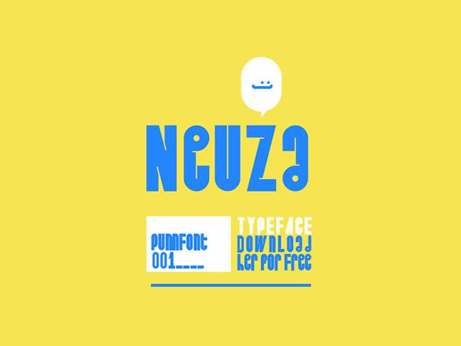 Neuza Free Fun Font