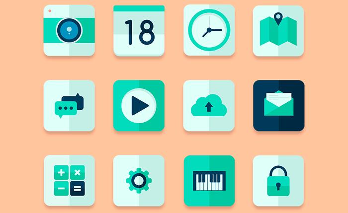 Free Flat Green Icon