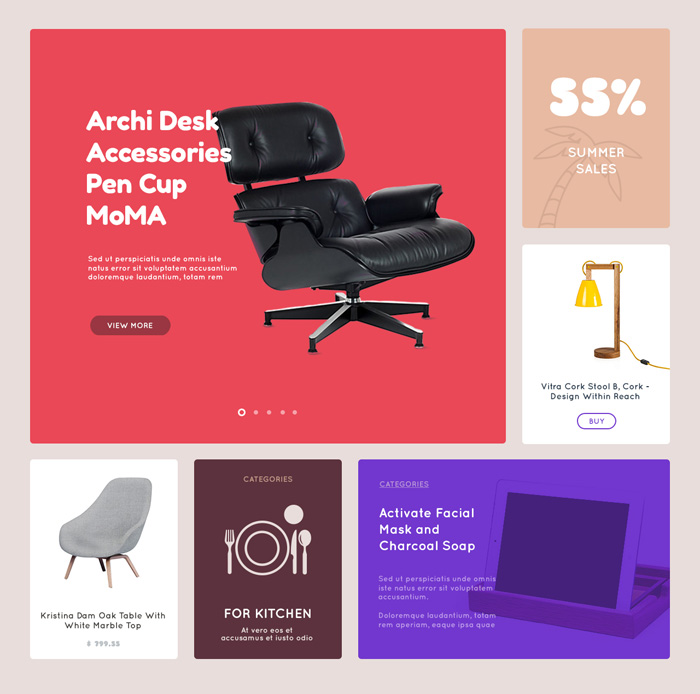 Free Accessories Ecommerce Template