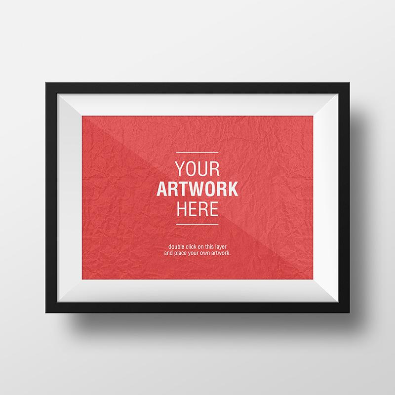 Free Frame PSD Mockup