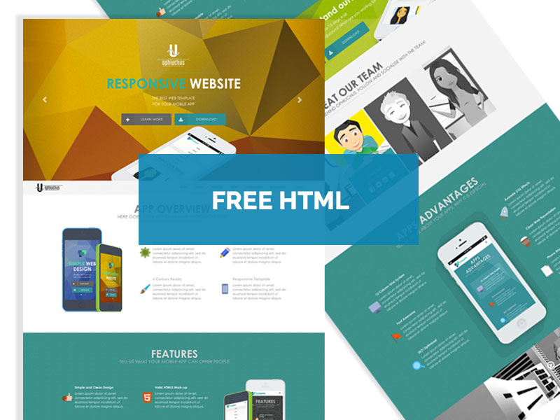 Ophiuchus : Free Responsive HTML5/CSS3 Template