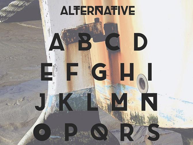 Brig Free Typeface