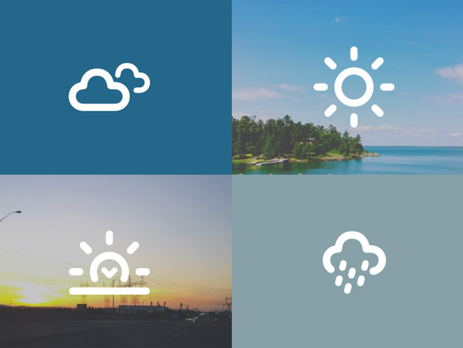 Dripicons – Free Weather Icon Set
