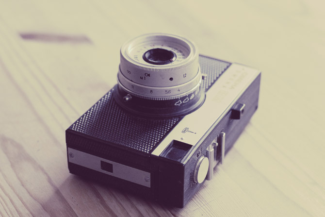 4 Hi-resolution Vintage Camera Photos