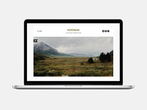 Hoffman  : Free Stylish and beautifully minimal WordPress Theme