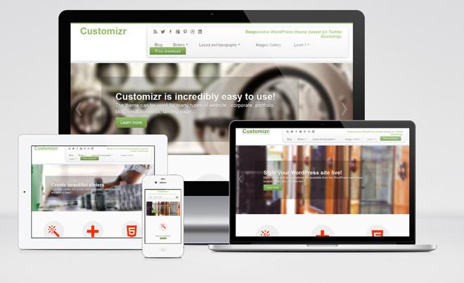 Customizr : Free Responsive WordPress Theme for Business