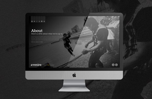 Avenir : Free Modern Coming Soon HTML Template