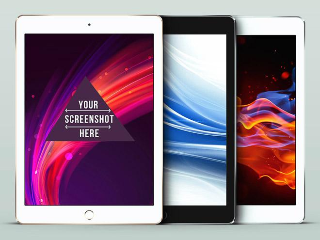 Free iPad Air 2 PSD Mockup