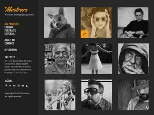 Mostrare : Free Photography Portfolio PSD Template
