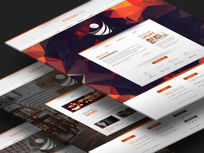 Colharosa : Free Sport PSD Web Template
